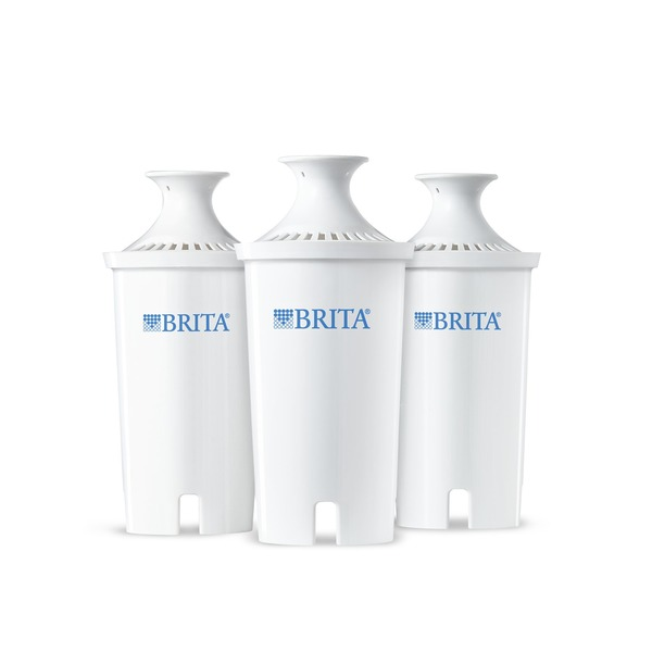 Brita Pitcher Replacement Filters - 3 CT