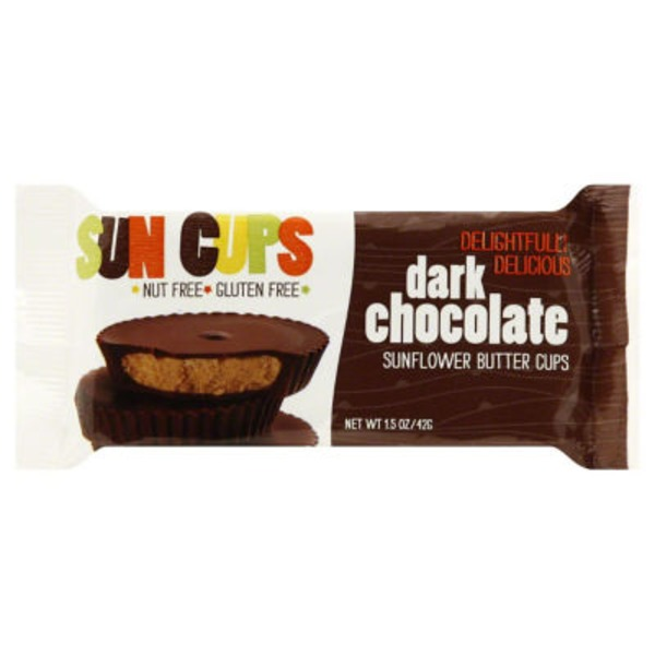 Sun Cups Sunflower Butter Cups Dark Chocolate - 2 CT