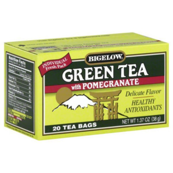 Bigelow With Pomegranate Green Tea Bags