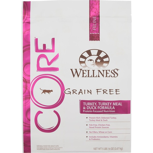 Wellness Core Turkey Turkey Meal & Duck Cat Food