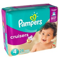 Pampers Cruisers Jumbo Pack Diapers Size 4