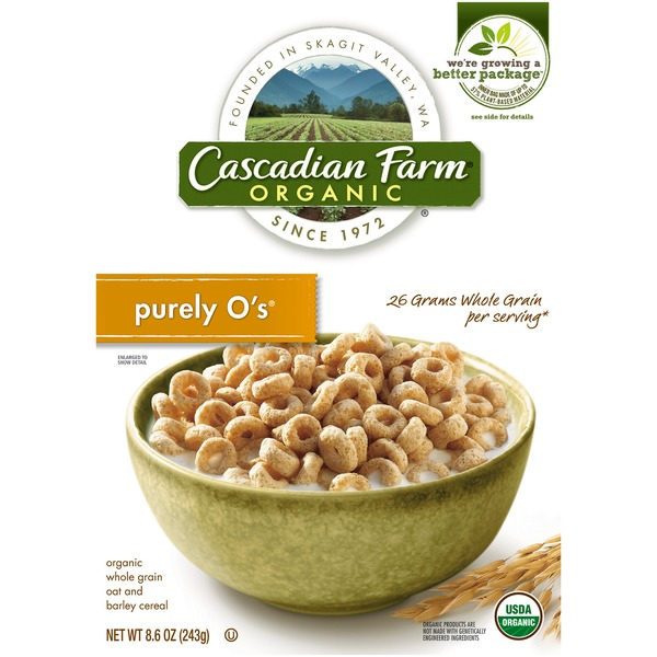 Cascadian Farm Organic Purely O's Cereal