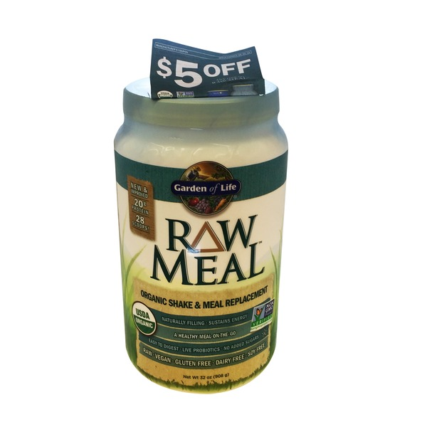 Garden of Life RAW Meal Beyond Organic Meal Replacement Formula