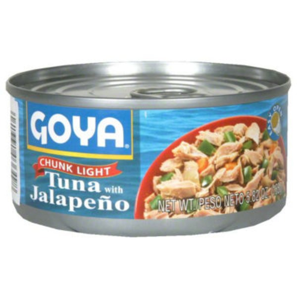 Goya Chunk Light Tuna With Jalapeño
