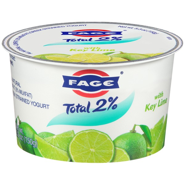Fage Total 2% with Key Lime Lowfat Greek Strained Yogurt