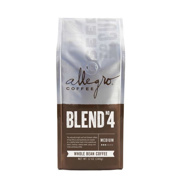 Allegro Coffee Whole Bean Medium Blend No. 4 Coffee