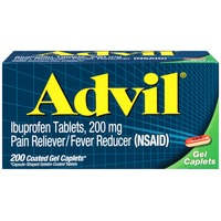 Advil Coated Gel Caplets Pain Reliever/Fever Reducer