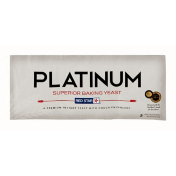 Red Star Yeast Platinum Superior Baking Yeast - 3 CT