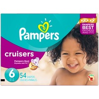 Pampers Cruisers Size 6 Super Pack Diapers