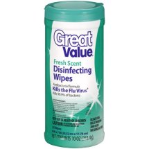 Great Value Disinfecting Wipes, Fresh Scent, 35 Count