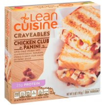 LEAN CUISINE Craveables Chicken Club Panini 6 oz Box