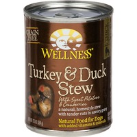 Wellness Turkey & Duck Stew with Sweet Potatoes and Cranberries Canned Dog Food