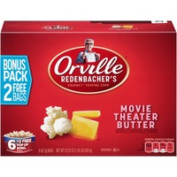Orville Redenbacher's Movie Theater Butter Pop Up Bowl Bags Microwave Popcorn