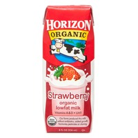 Horizon Organic Strawberry Lowfat Milk