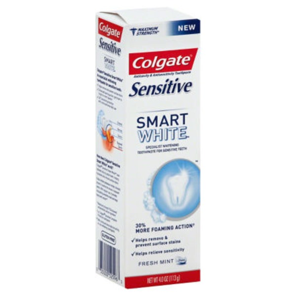 Colgate Sensitive Smart White Toothpaste Fresh Mint
