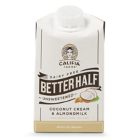 Califia Farms Unsweetened Better Half Coconut Cream & Almondmilk Creamer