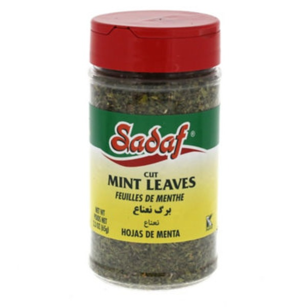 Sadaf Cut Mint Leaves
