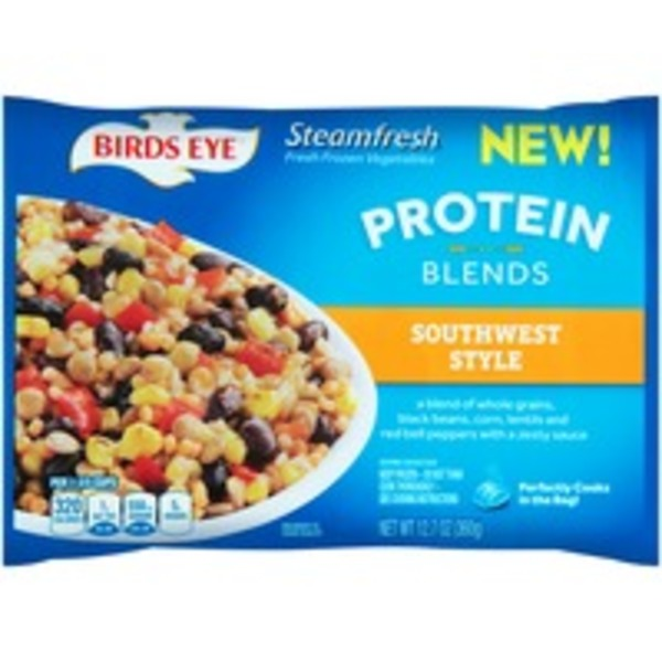 Birds Eye Steamfresh Protein Blends Vegetables, Southwest Style