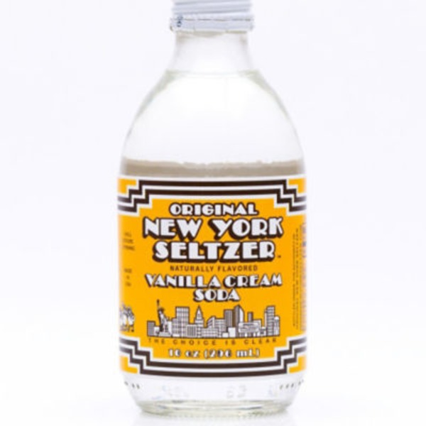 Original New York Seltzer Vanilla Cream Seltzer