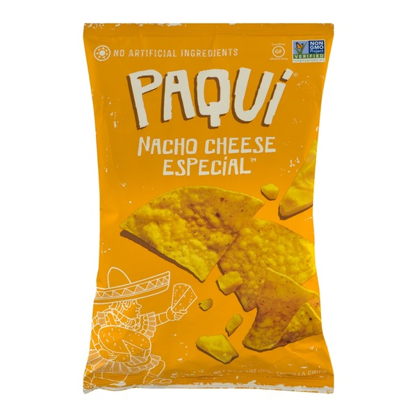 Paqui Nacho Cheese Especial Tortilla Chips