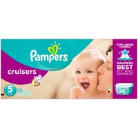 Pampers Cruisers Pampers Cruisers Diapers Size 5 96 count Diapers