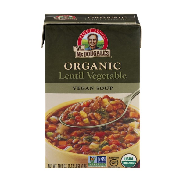 Dr. McDougall's Organic Lentil Vegetable Vegan Soup