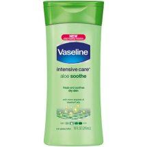 Vaseline Intensive Care Aloe Soothe Body Lotion 10 oz