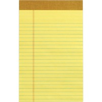 Perforated Pad Junior Canary Writing Pad