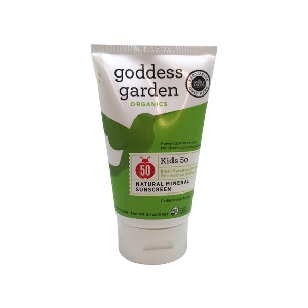 Goddess Garden Kid's Spf 50 Sunscreen