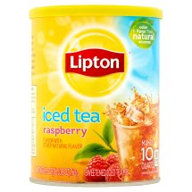 Lipton Drink Mix, Rasoberry Iced Tea, 26.8 Oz, 1 Count