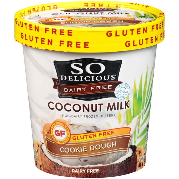 So Delicious Dairy Free Coconut Milk Cookie Dough Frozen Dessert