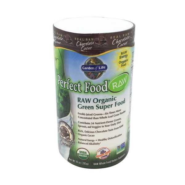 Garden of Life Perfect Food Raw Organic Chocolate Powder