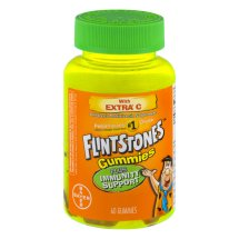 Flintstones Immunity Support Gummies Children's Multivitamin, 60 Count