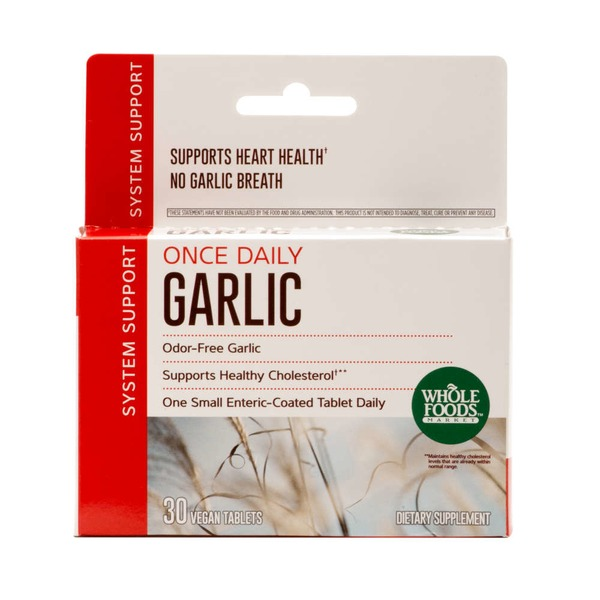 Whole Foods Market Once Daily Garlic Tablets