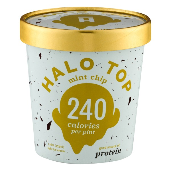 Halo Top Creamery Mint Chip