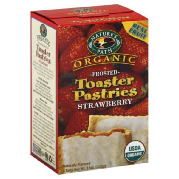 Nature's Path Organic Strawberry Frosted Toaster Pastries