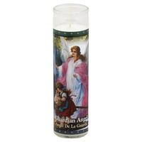St Jude Candle Candle, Guardian Angel, 8.2 Inch