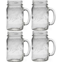 Ball Jars Drink Mugs 4 Pk