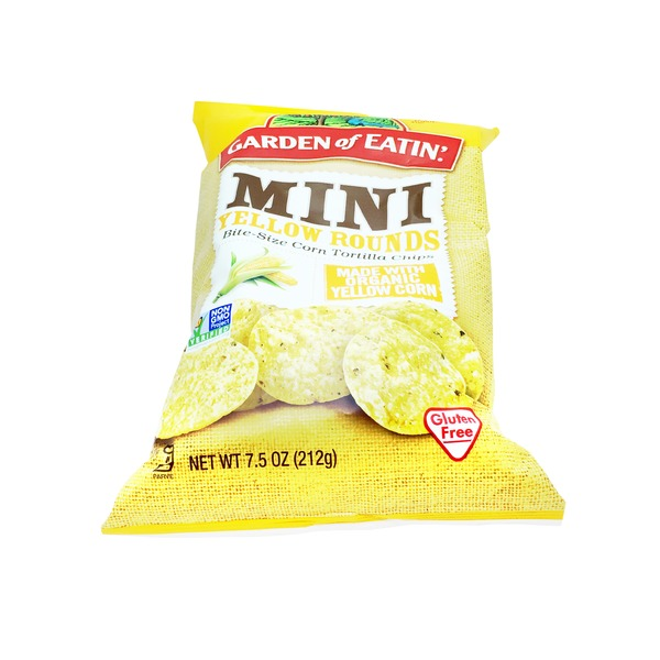 Garden of Eatin Corn Mini Yellow Rounds Tortilla Chips
