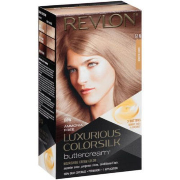 Revlon Luxurious Colorsilk Buttercream Haircolor - Dark Blonde