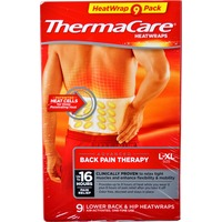ThermaCare Lower back & Hip Heatwraps, L-XL