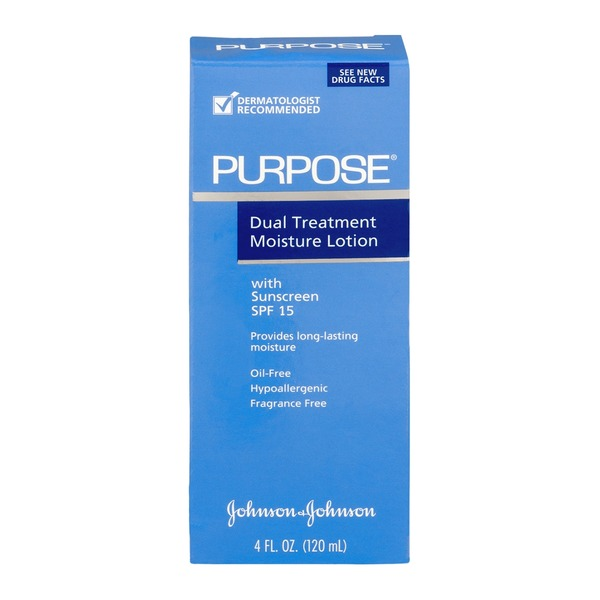 Purpose Dual Treatment Moisture Lotion