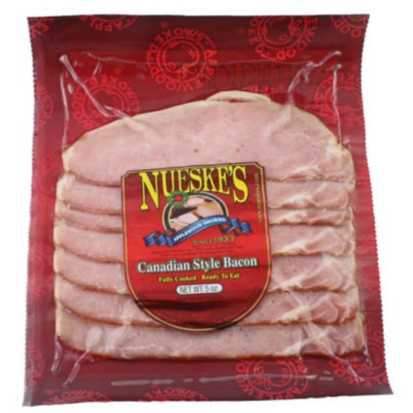 Nueske's Sliced Canadian Style Bacon