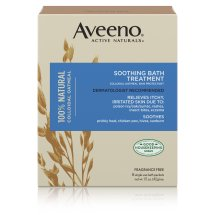 Aveeno Active Naturals Soothing Bath Treatment, 8 Single Use Packets