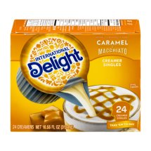 International Delight Southern Butter Pecan Coffee Creamer Singles 24 count