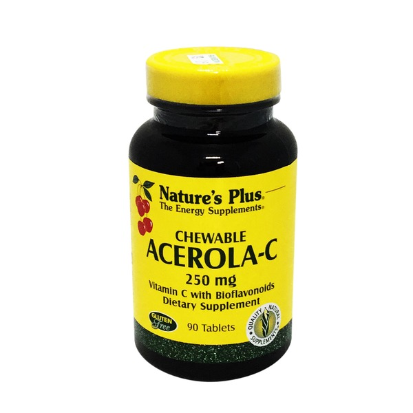 Nature's Plus Chewable Acerola-C 250 Mg