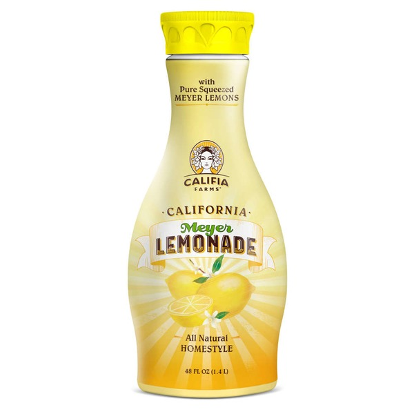 Califia Farms All Natural Homestyle California Lemonade