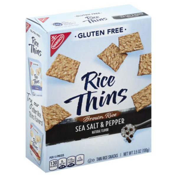 Nabisco Good Thins Rice Simply Salt Snacks