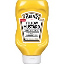 Heinz Yellow Mustard, 20 oz, Bottle