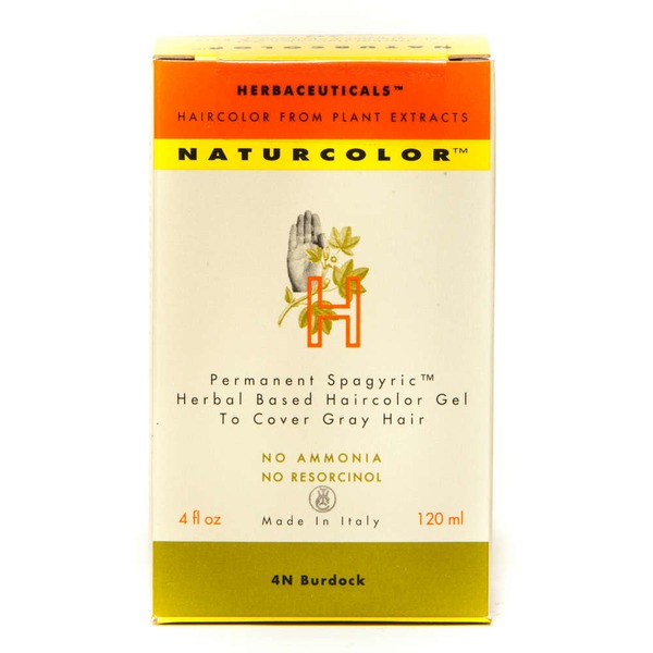 Naturcolor H Gel Colorant Permanent, 4N Bardane